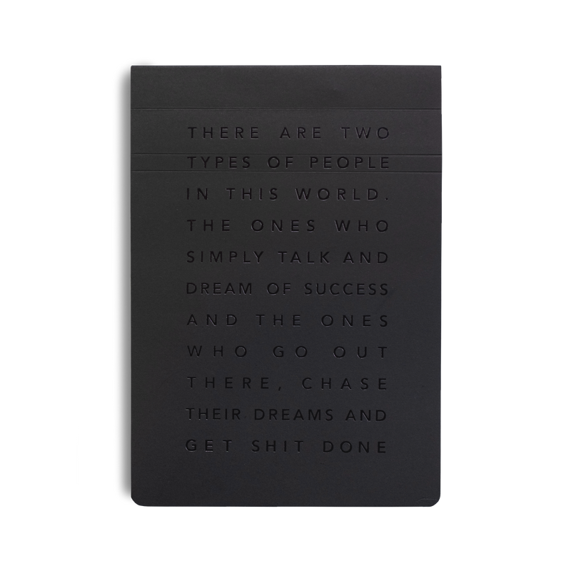 Migoals - Get Shit Done Manifesto Pad A5