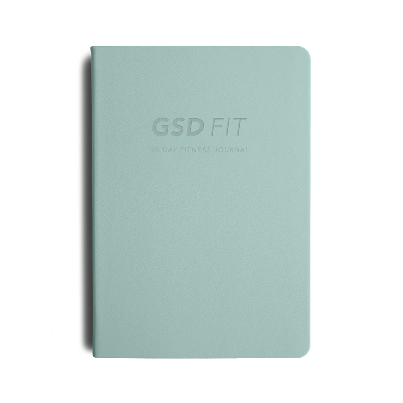 Migoals - GSD FIT A5 FITNESS JOURNAL - MINT