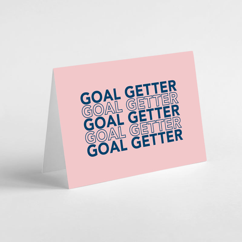 Migoals - Goal Getter - Greeting Card