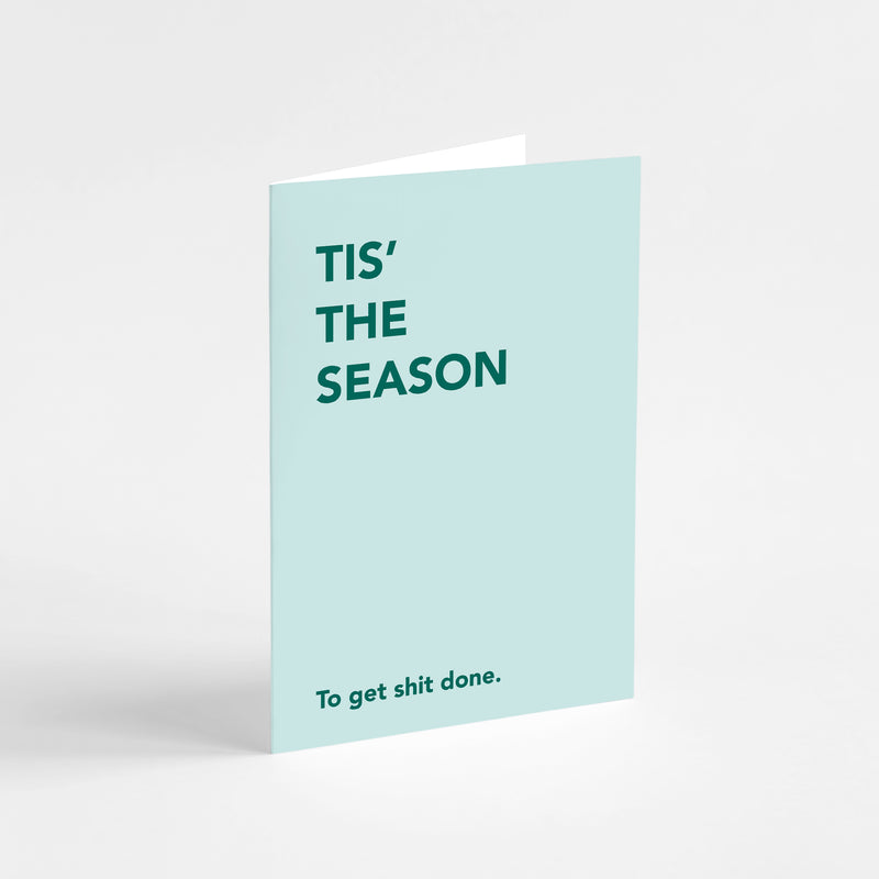 Migoals - Tis The Season - Greeting Card