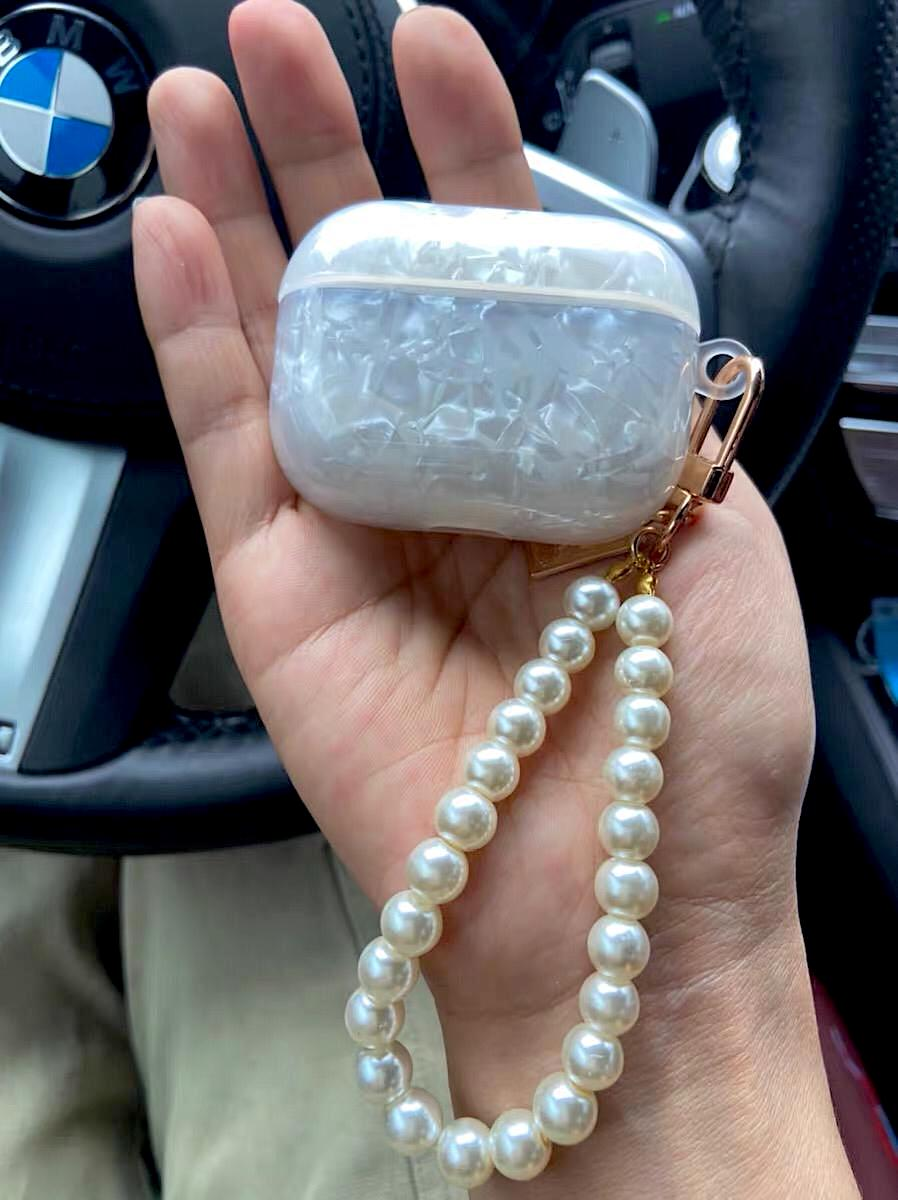 Pearl Shell Airpod Pro Case by Veronique