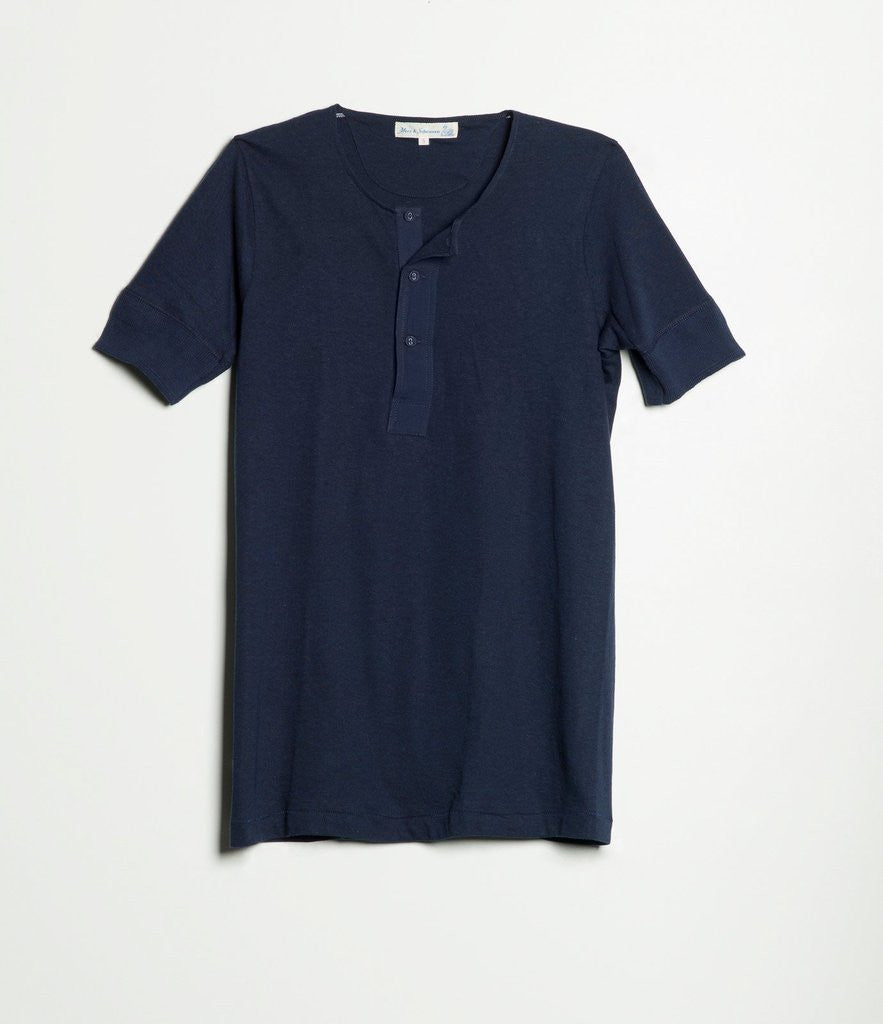 103 Henley Short Sleeve by MERZ B SCHWANEN