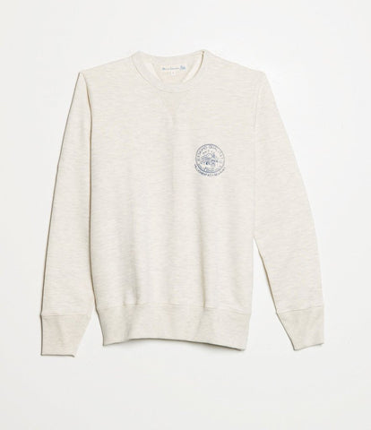 344 Crew Neck Sweatshirt - Nature mel