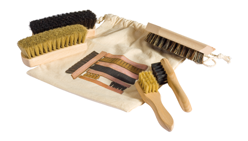 Shoe Care Brush Travel Set