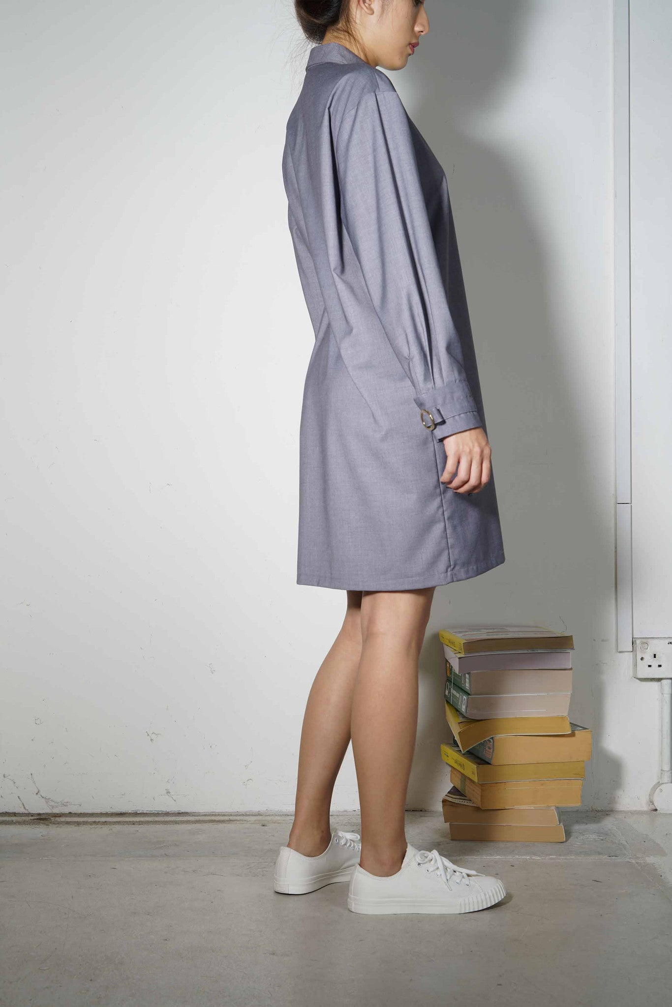 Plus-Minus Shirtdress #74 - Carmel