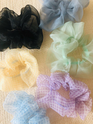 90s Hair Scrunchies by Veronique