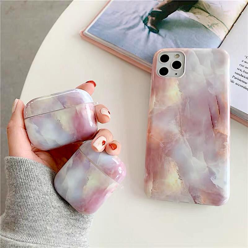 Marble Airpod Pro Case by Veronique