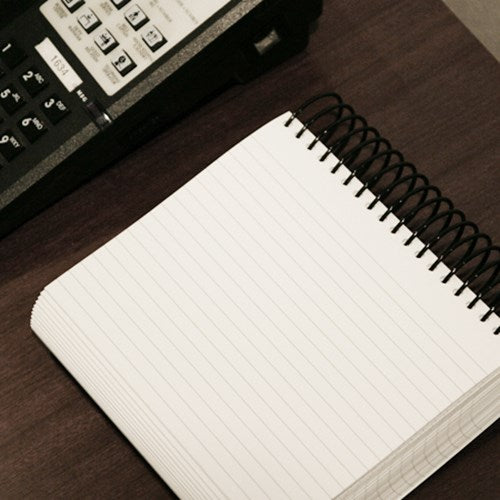 Wide Ring Notepad