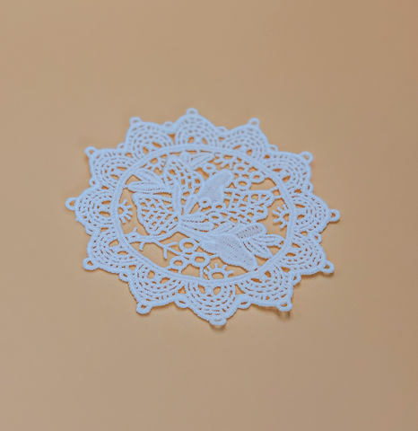 Handmade Lace Coasters by PROSE Tabletop
