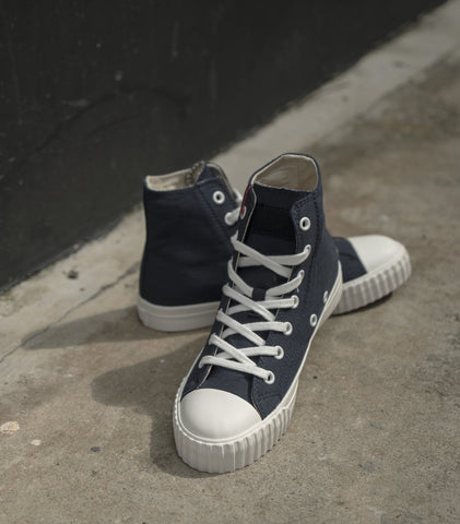 Bata Bullet Navy White High