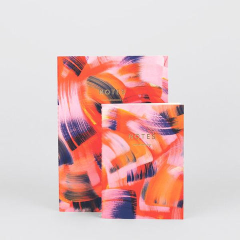 'Brushstrokes' Notebook