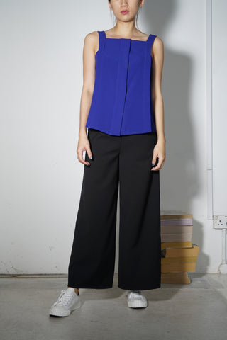 Comfort Ankle Culottes #55 Ultramarine
