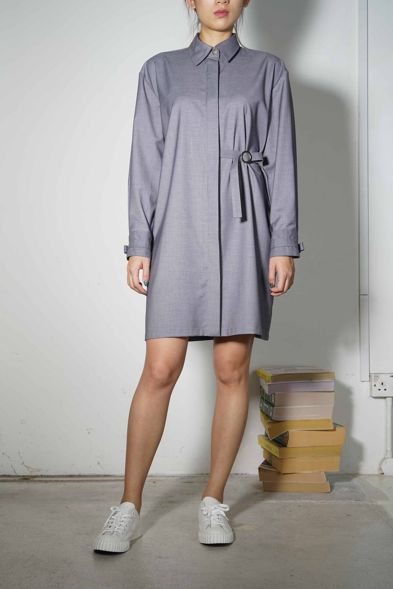 Plus-Minus Shirtdress #74 - Poplin