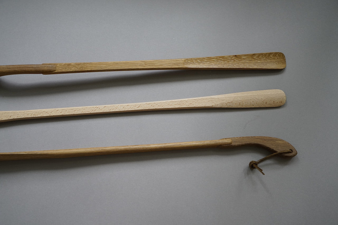 Shoehorn with Leather Strap