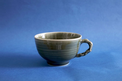 Porcelain Cup - Emerald (Large)