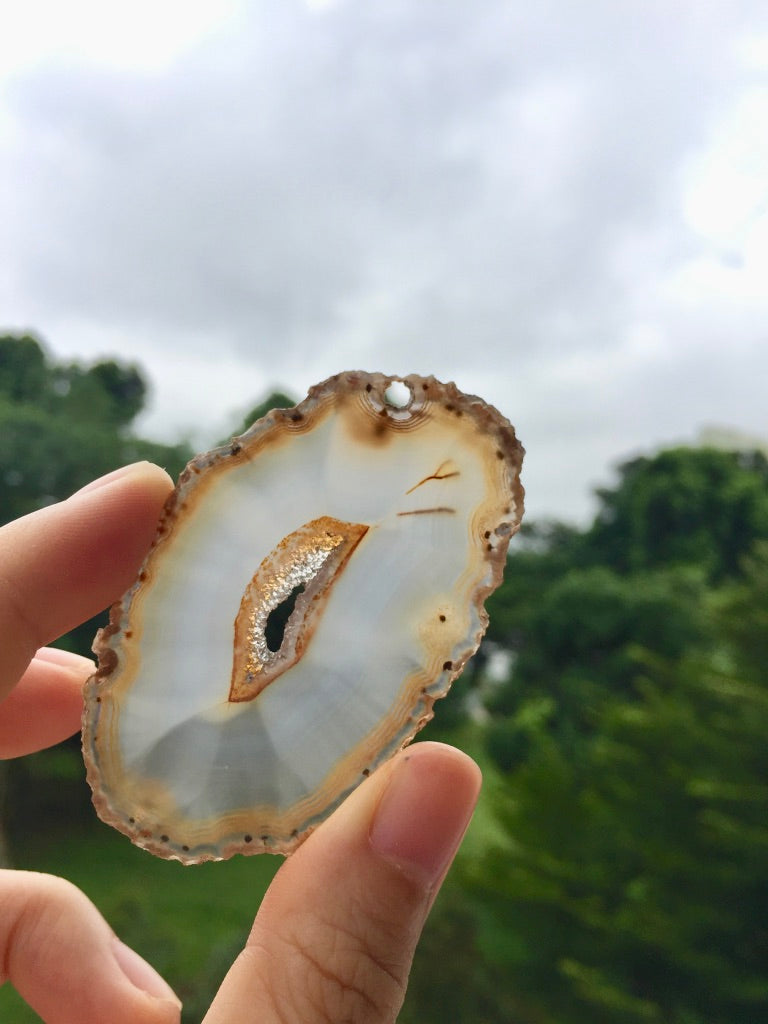 Agate Slice #19 by Vivian Lam