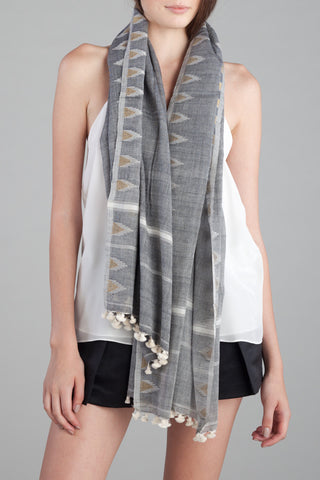 Double Temple Scarf