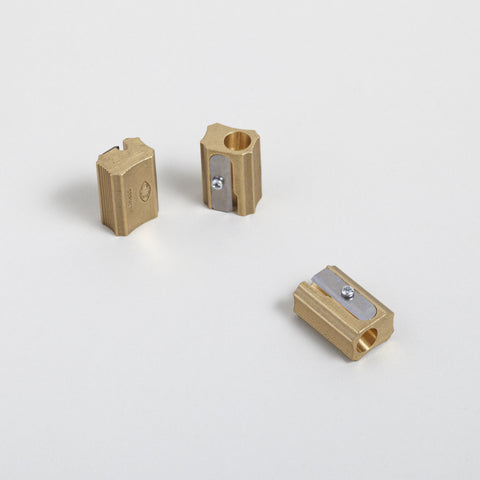 Brass Block Sharpener
