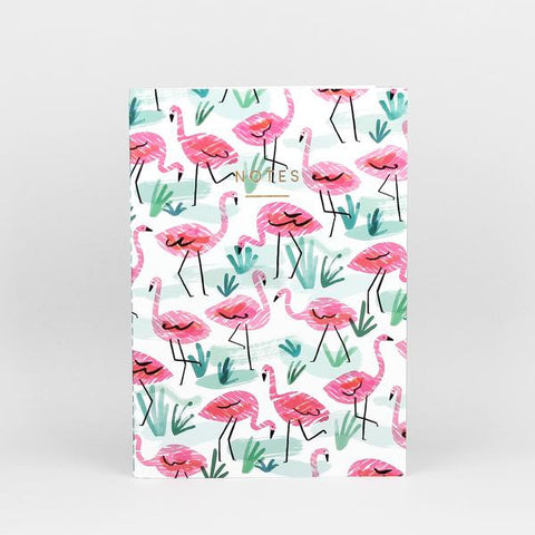 'Flamingos' Notebook