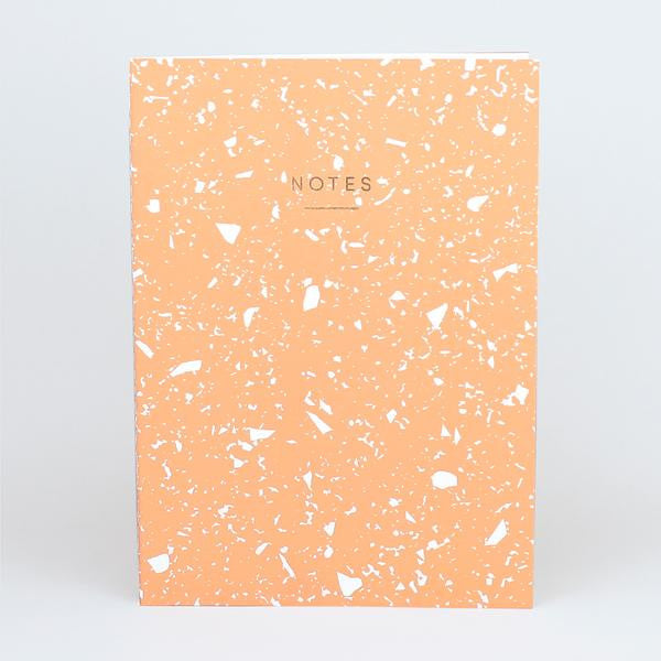 'Fragment' Notebook (Coral)