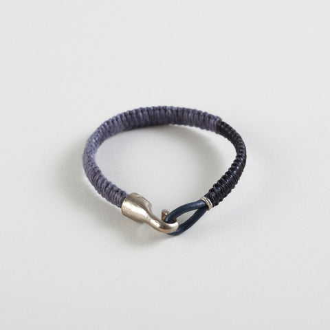 Cobra Leather Bracelet