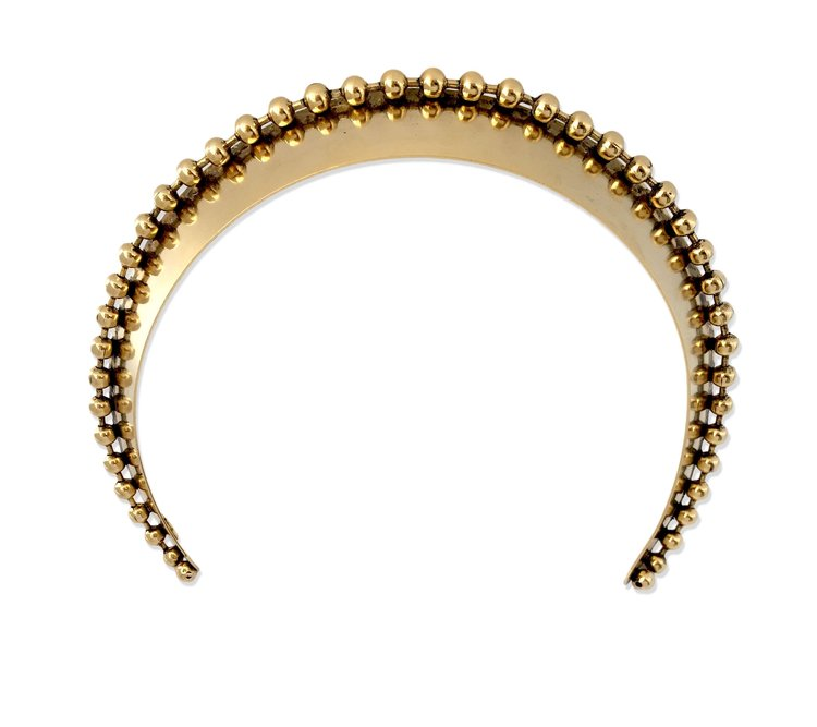 Glossy Ball Chain Wide Headband