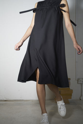 Drawstring Drapes Dress #68