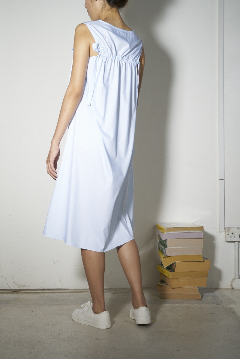 Drawstring Drapes Dress - Chiffon #68