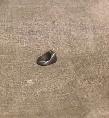TRI-NATION RING (Antique Bronze) by George Frost
