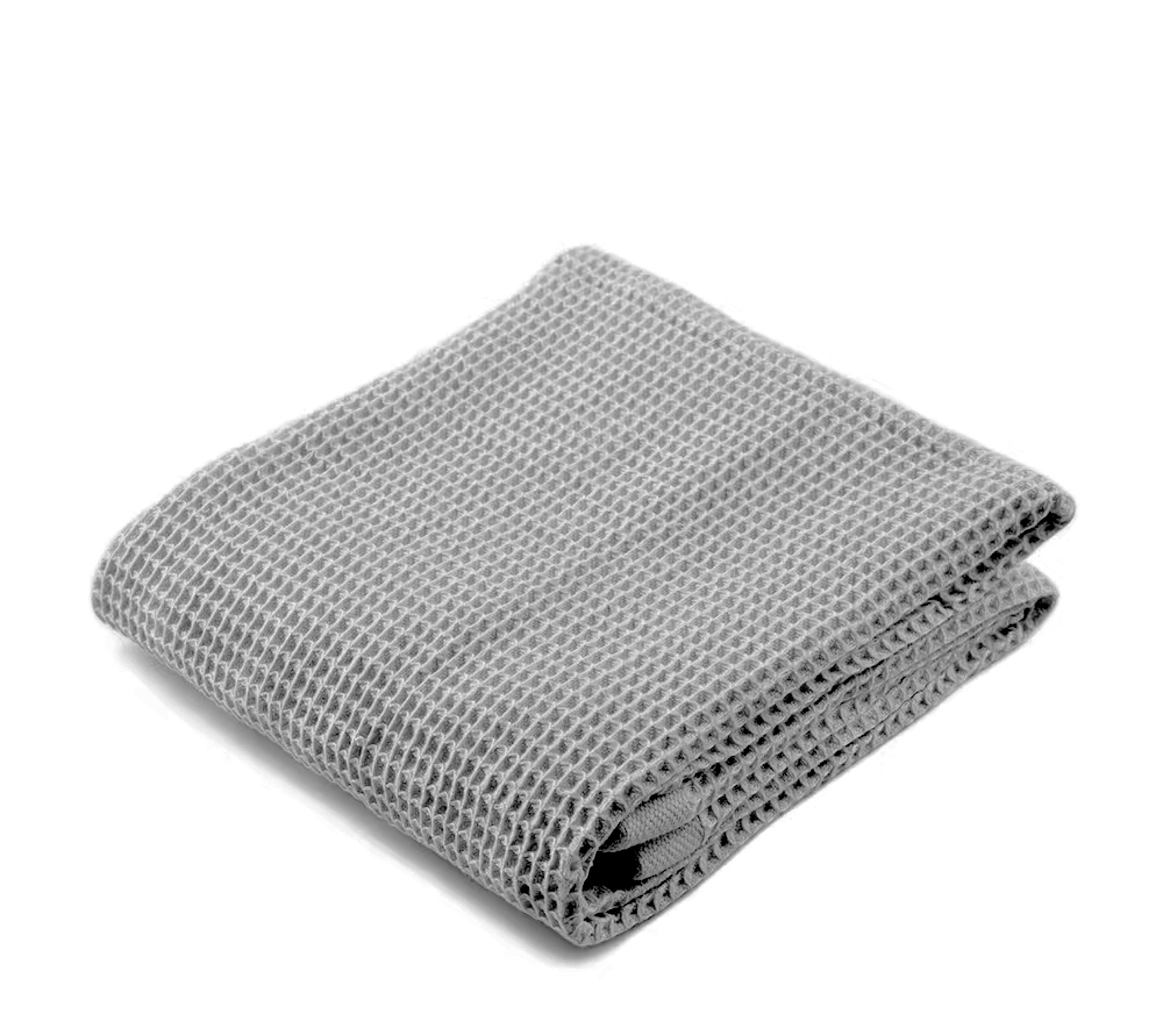Waffle Throw in Graphite by PROSE Décor