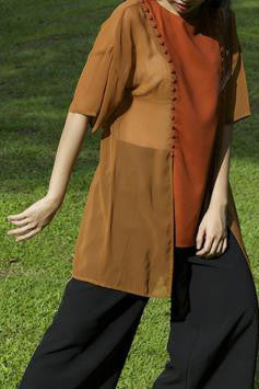 Oriental Transformable Bib Top #62