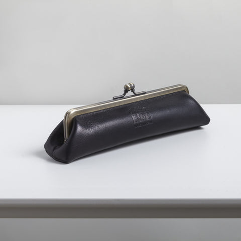 Triangle Leather Pencil Case