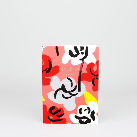 'Painted Flowers' Notebook