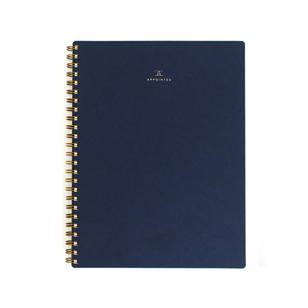 Work Book | Canvas White or Navy