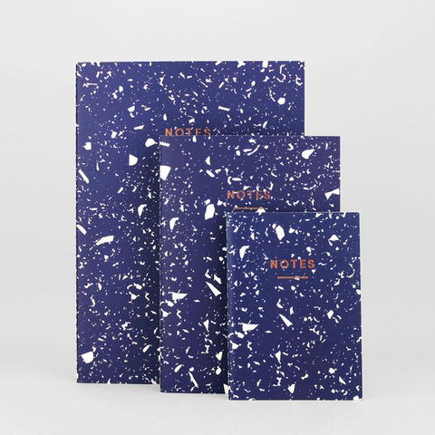 'Fragment' Notebook (Navy)