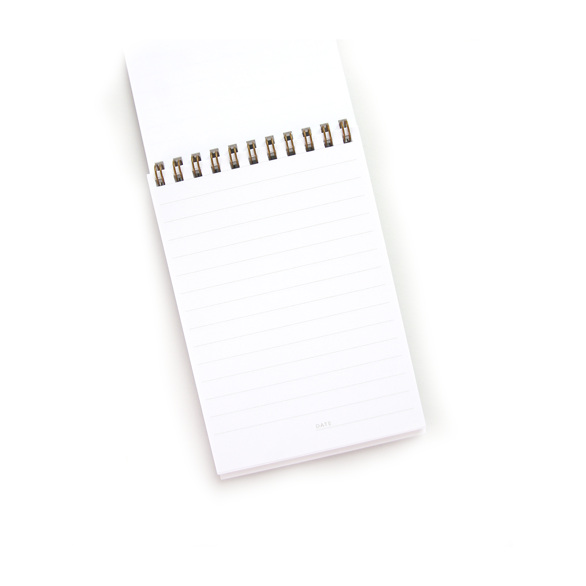 Brass Coil Notepad