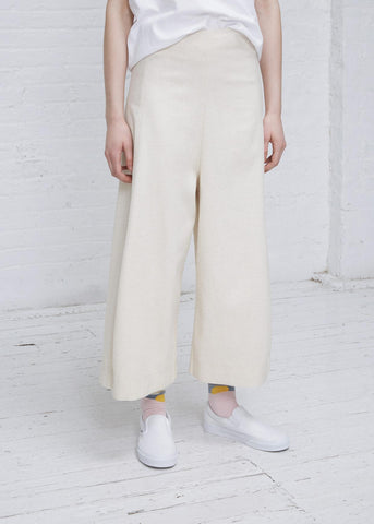 Loyal Twill Pants - White