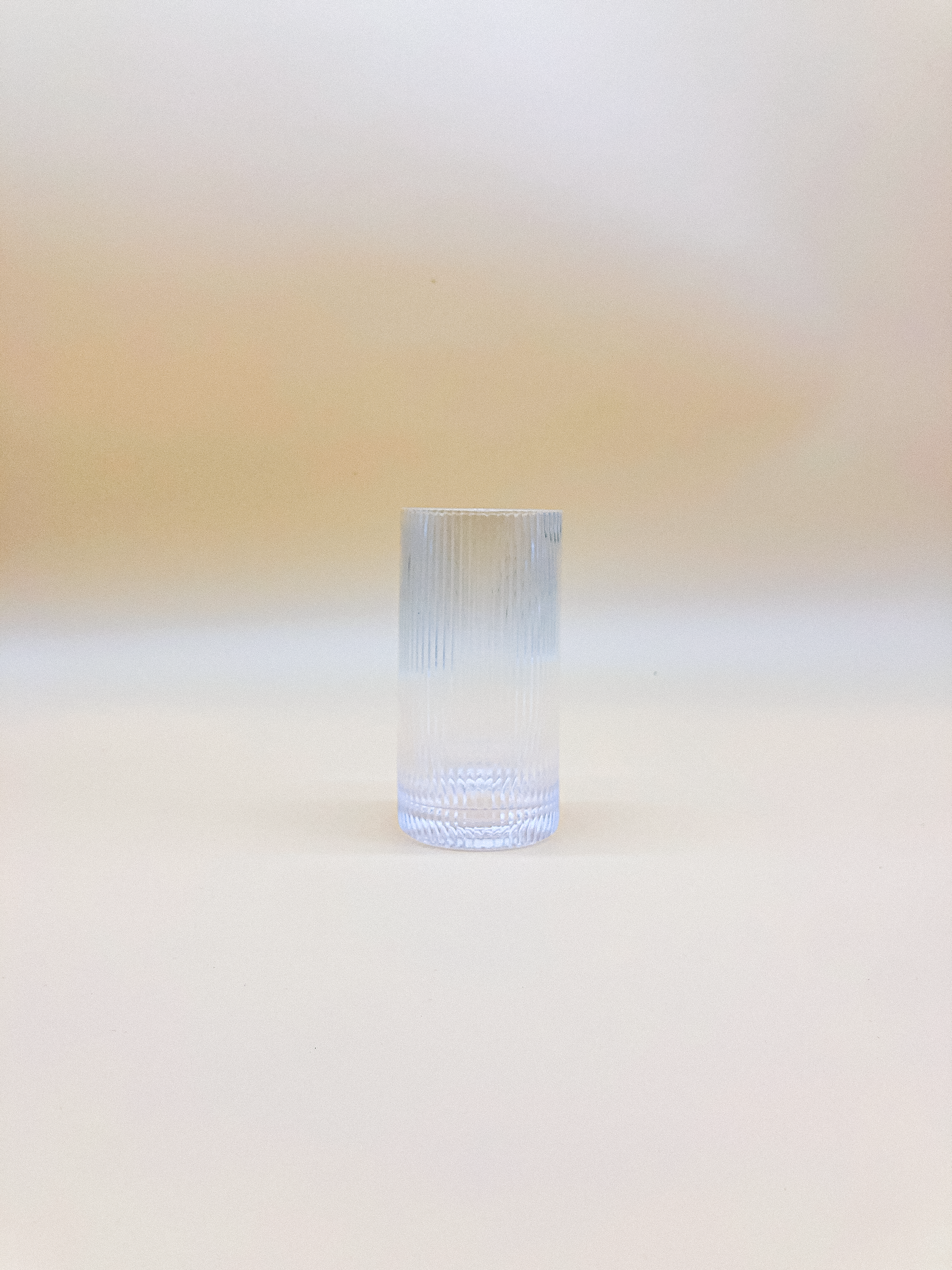 Ripple Highball Glass  by PROSE Tabletop