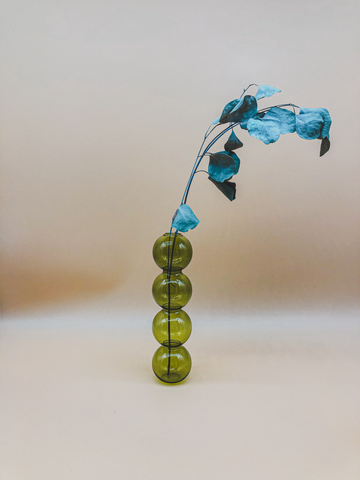 The Olive Bubble Vase by PROSE Botanical