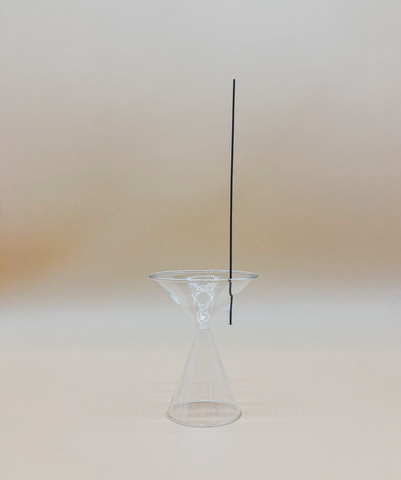 Clear Incense Holder by PROSE Tabletop