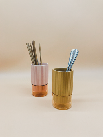 Coral Planter & Utensil Holder by PROSE Tabletop