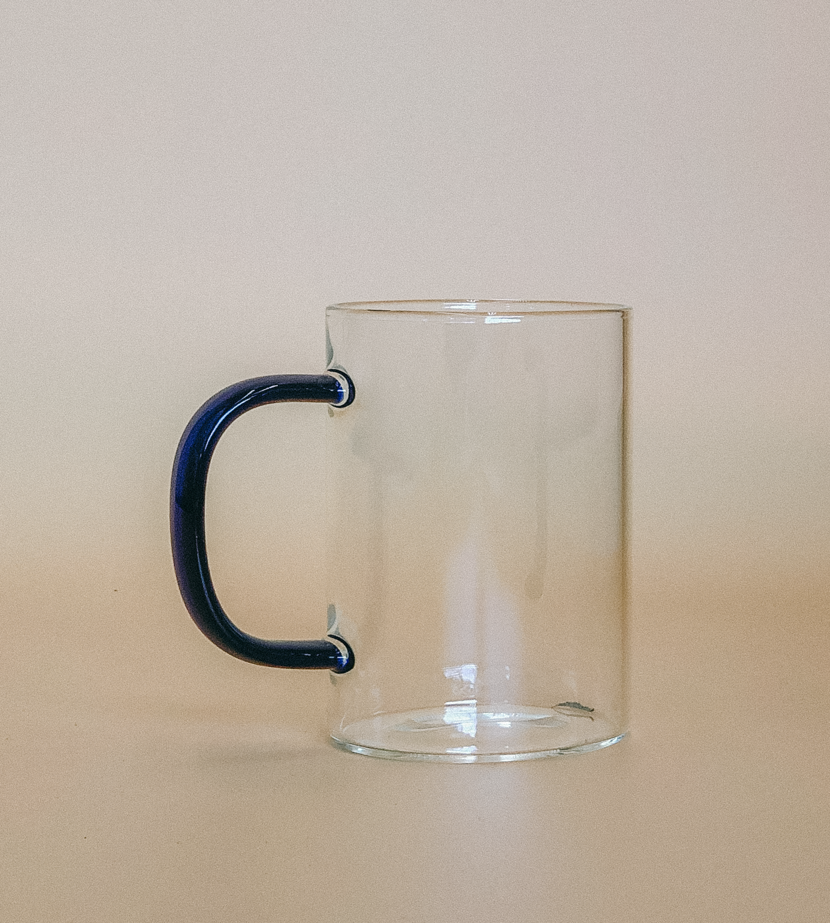 Coffee Mug with Accent Handle by PROSE Tabletop