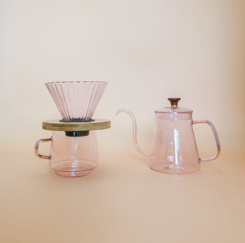 Rosé Coffee Set by PROSE Tabletop