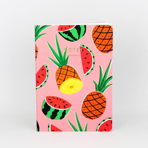 'Pineapples and Watermelons' Notebook