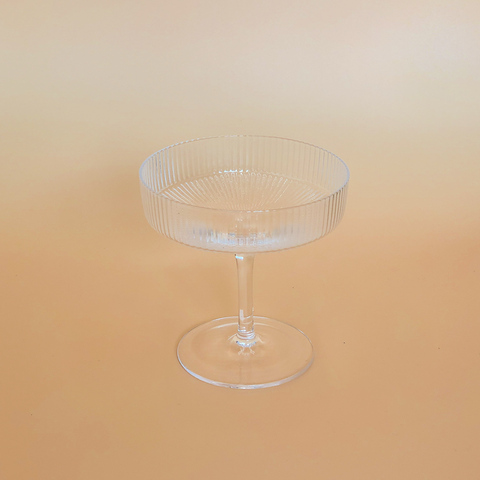 Vintage Champagne Coupe  by PROSE Tabletop