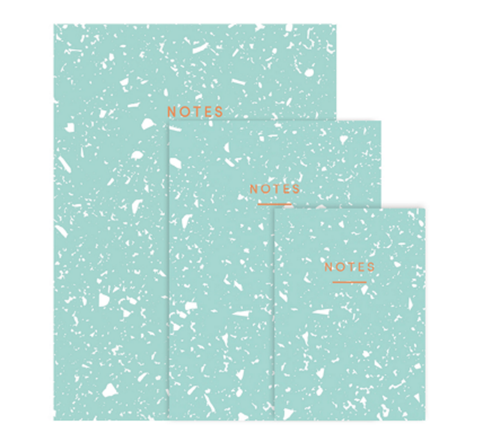 'Fragment' Notebook (Mint)