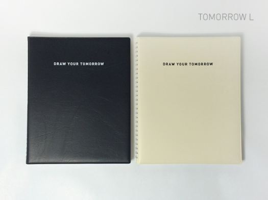 Tomorrow L V.9 Notebook / Black