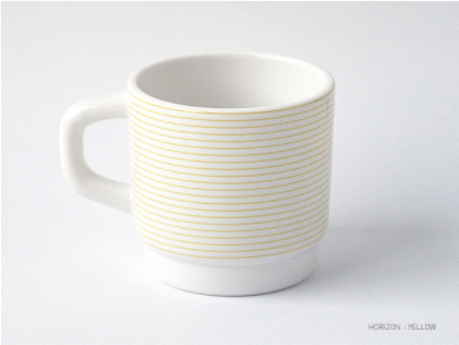 Ceramic object cup