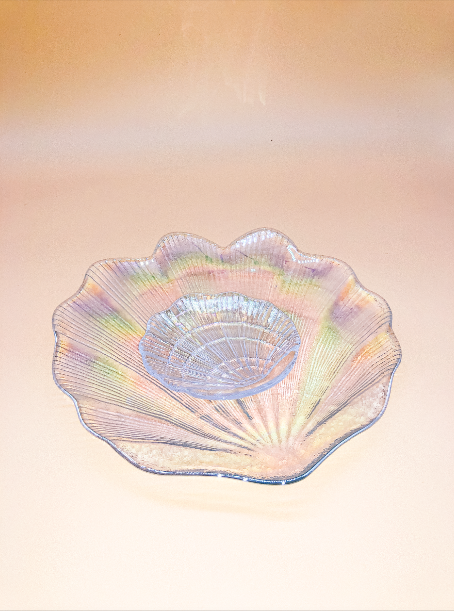 Holographic Shell Plate by PROSE Tabletop