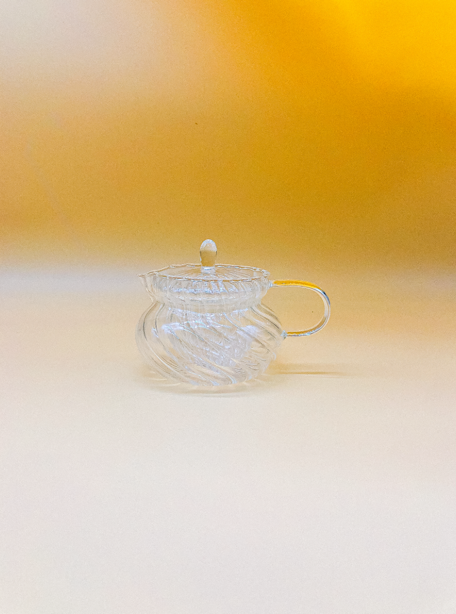 Vintage Ripple Teapot by PROSE Botanical